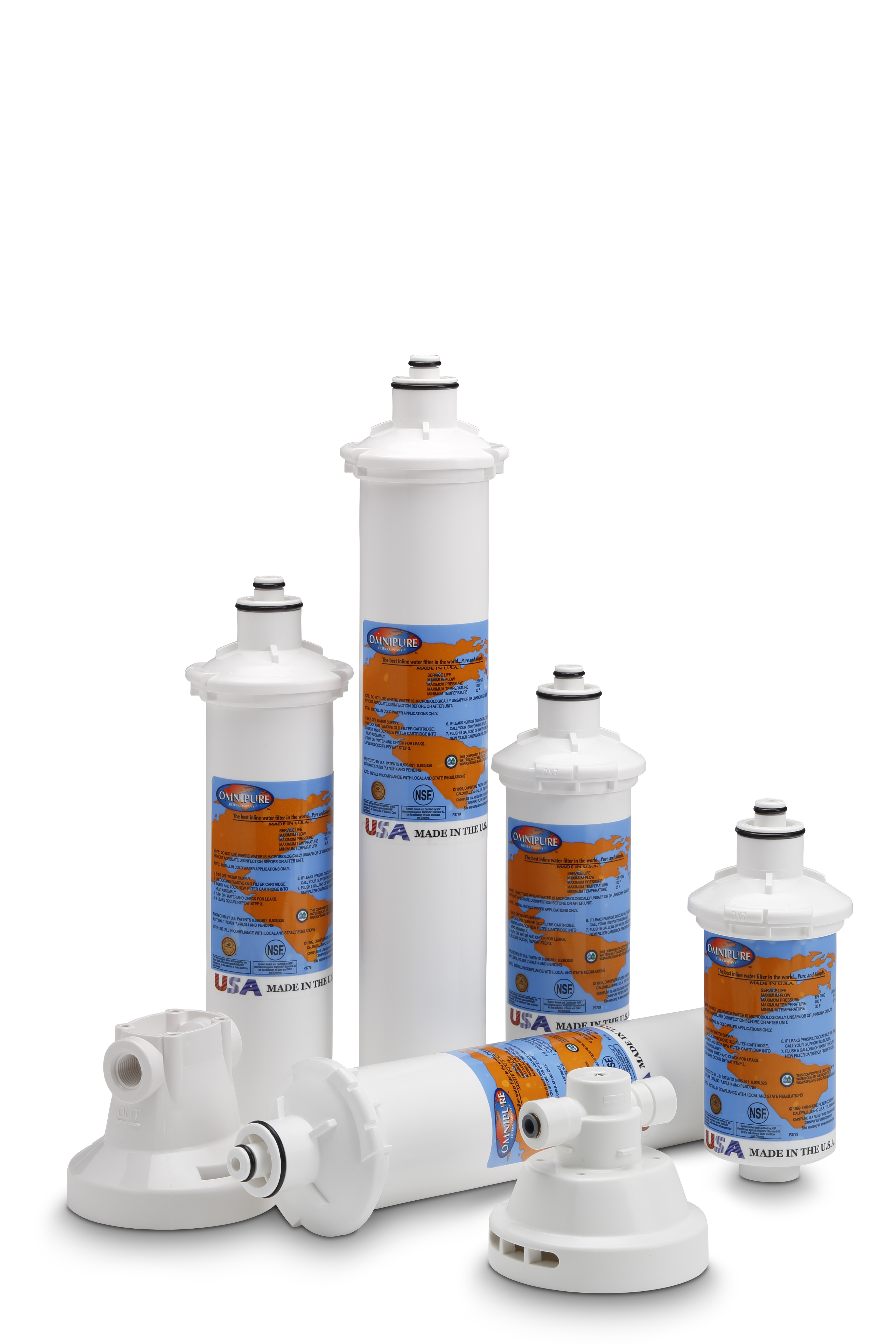 Omnipure E5528 E-Series GAC Water Filter